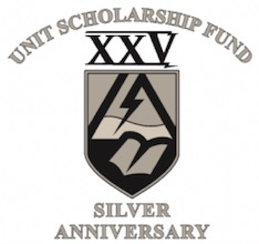 Unit Scholarship Fund Silver Anniversary